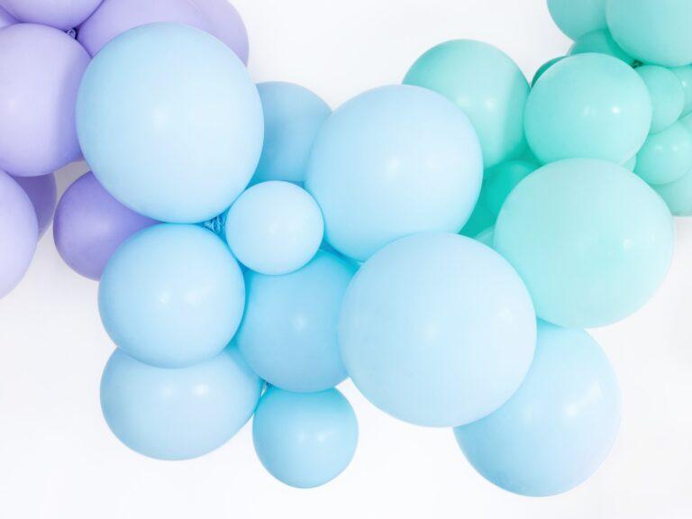 Μπαλόνια Latex Pastel Γαλάζιο 27εκ – 50 Τεμάχια