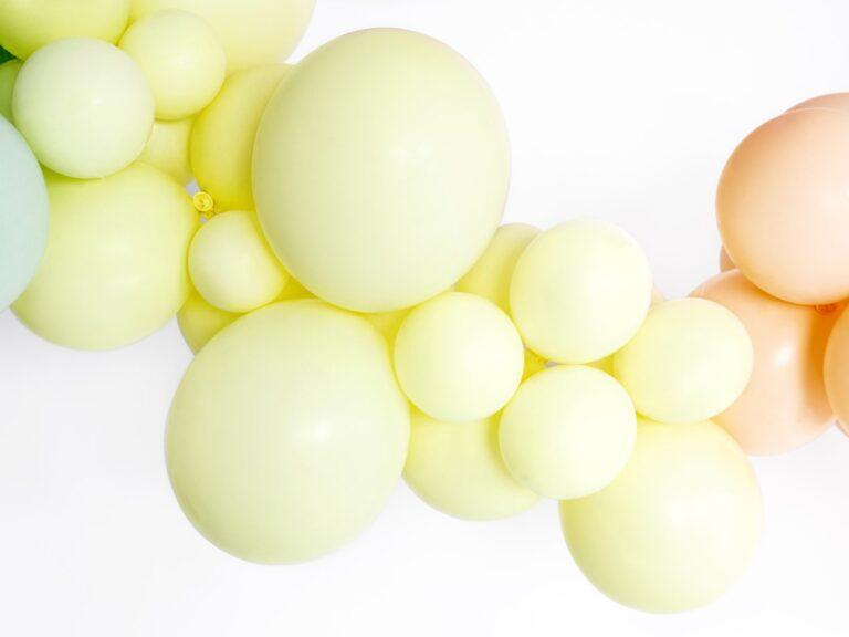 Μπαλόνια Latex Pastel Κίτρινα 27εκ – 10 Τεμάχια