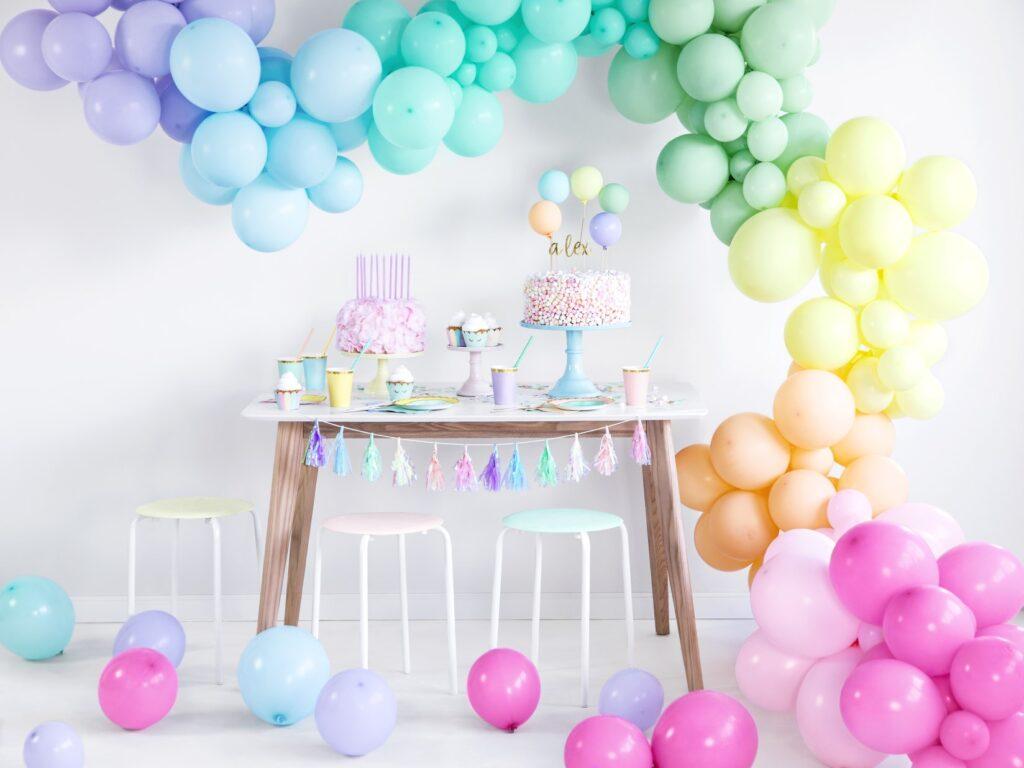 Μπαλόνια Latex Pastel Mint 27εκ – 10 Τεμάχια