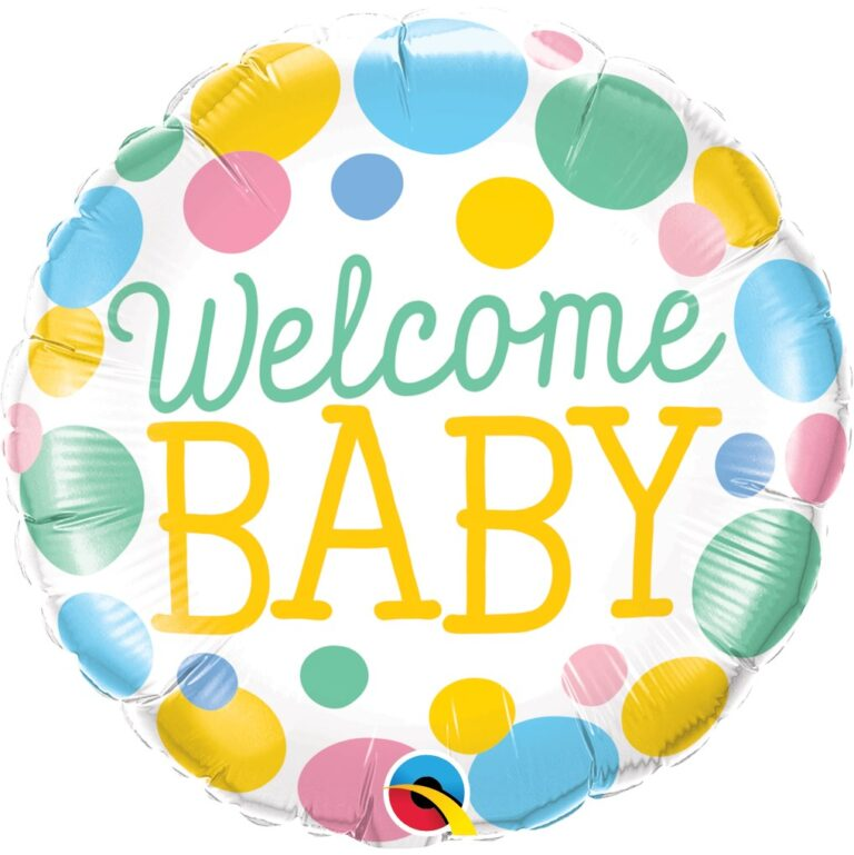 Μπαλόνι Foil Welcome Baby 46εκ