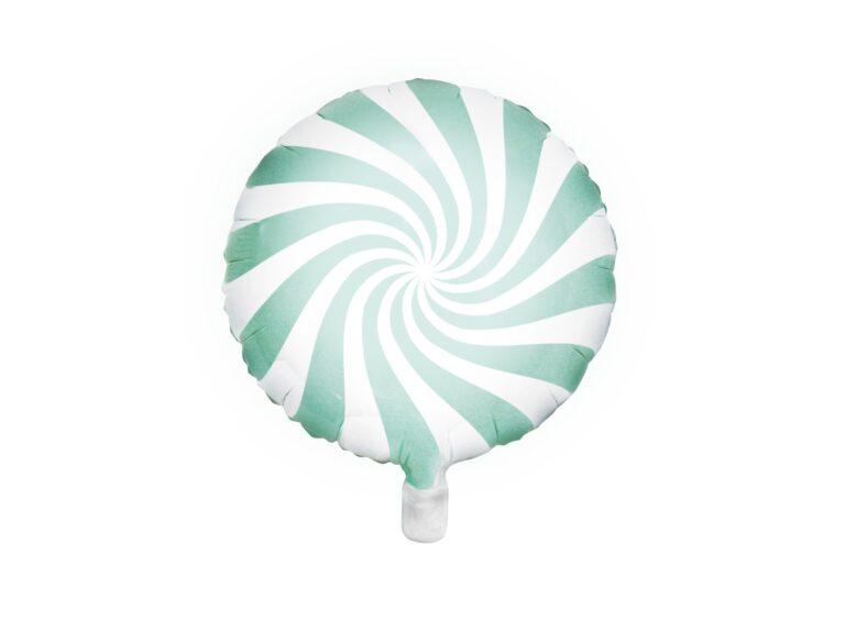 Μπαλόνι Foil Candy 'Ασπρο Mint 45 εκ