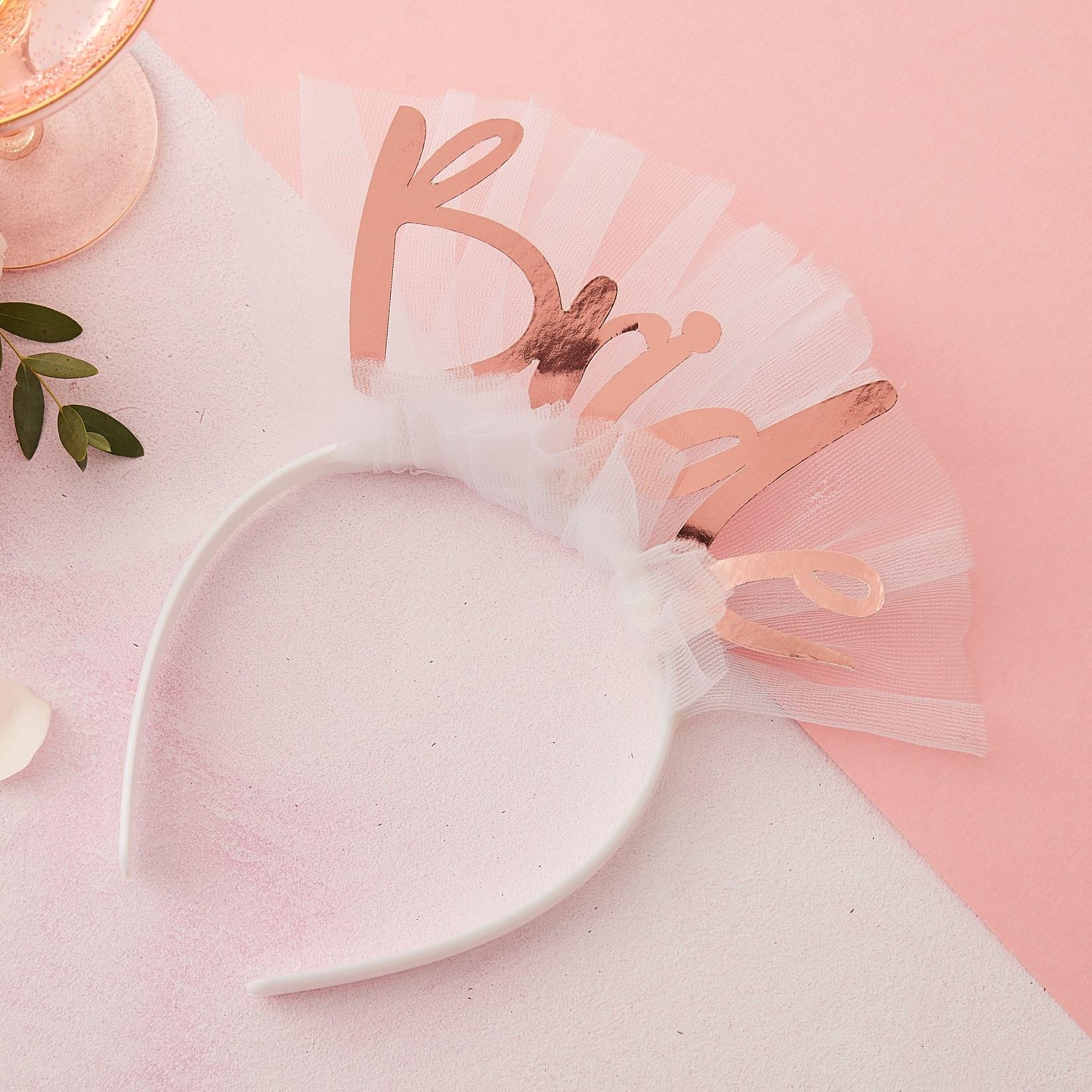 Στέκα Bride με Λευκό Τούλι
