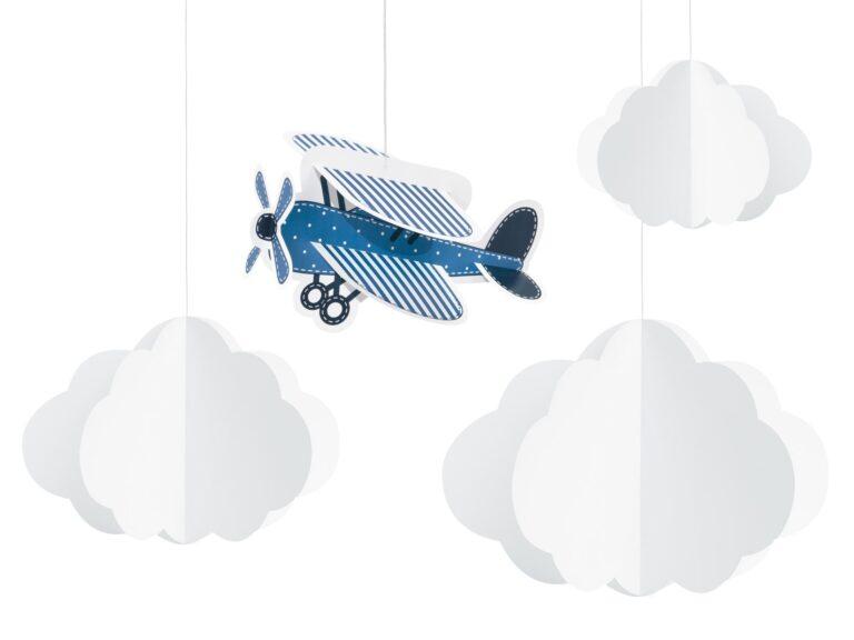 Κρεμαστά Διακοσμητικά Little Plane – 4 Τεμάχια