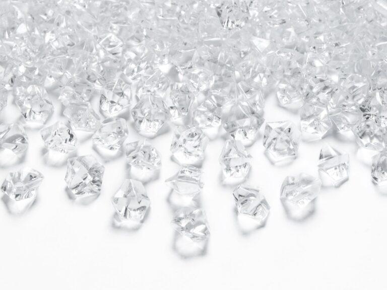 Κρυσταλλάκια Διάφανα 14×11χλστ – 40 Τεμάχια