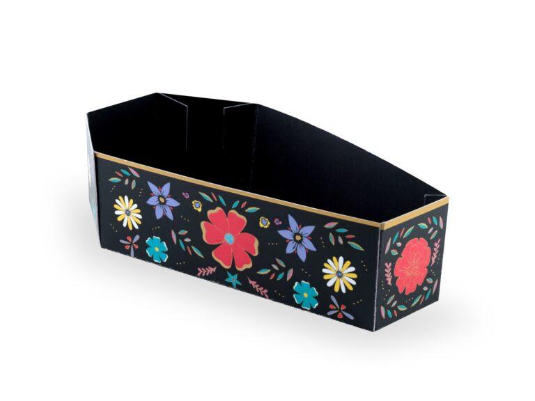 Χάρτινα Κουτάκια Κερασμάτων DIY Φερετράκια – 6 Τεμάχια