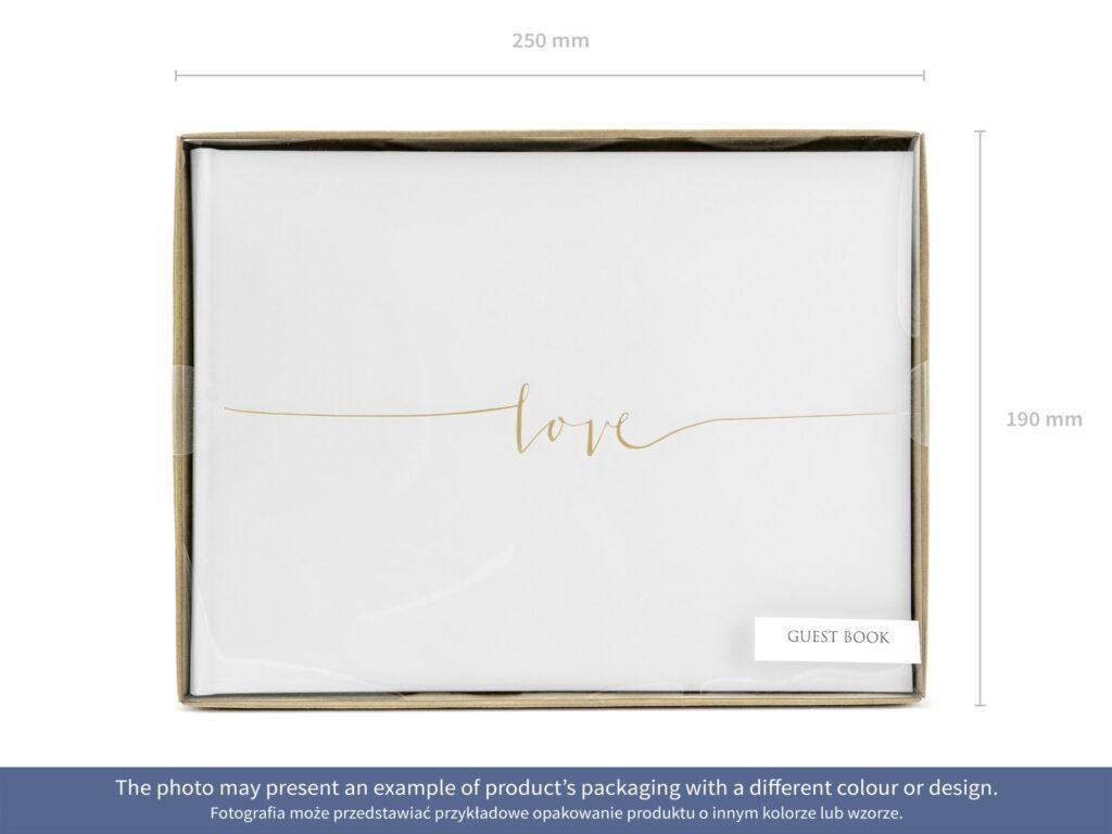 Ευχολόγιο – Βιβλίο Ευχών Γάμου Love Χρυσό