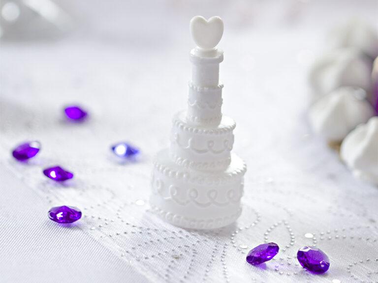 Σαπουνόφουσκες Wedding Cake – 24 Τεμάχια