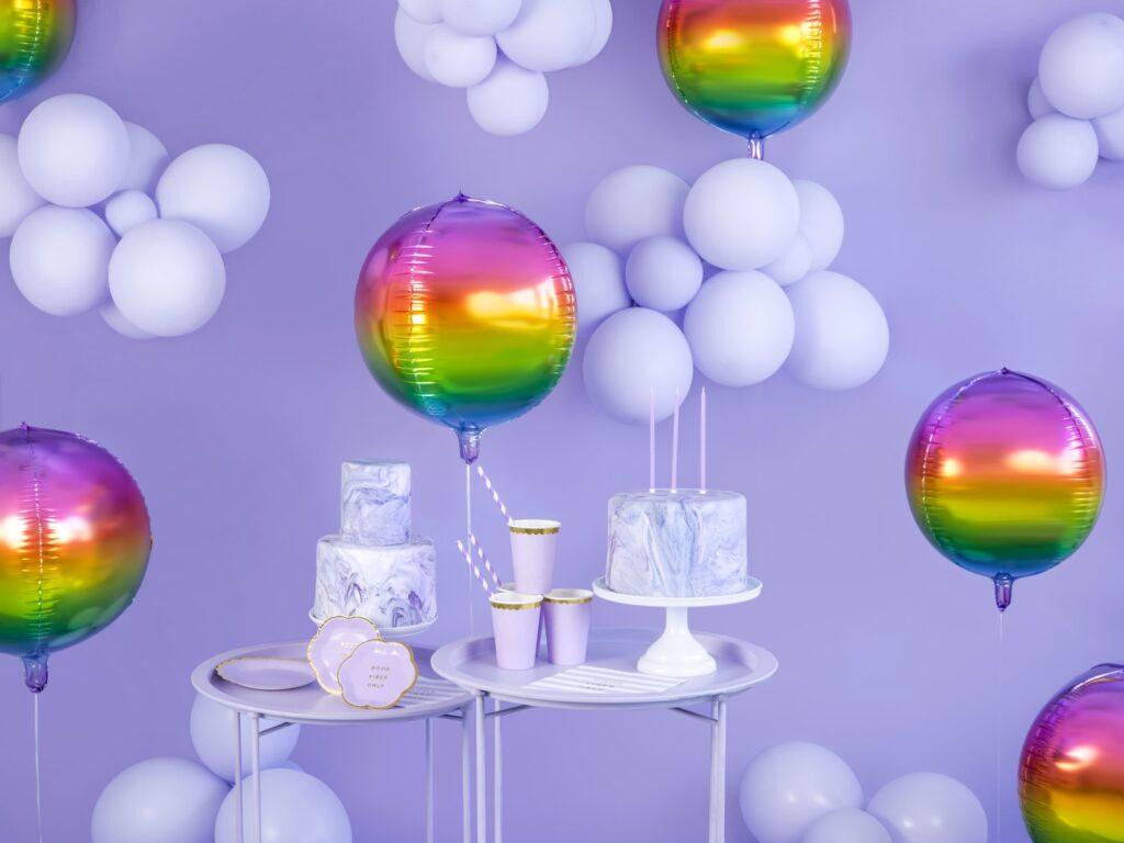 Μπαλόνια Latex Pastel Λιλά 27εκ – 10 Τεμάχια