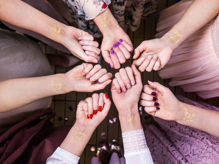 Τατουάζ Gold Bachelorette – 13 Τεμάχια