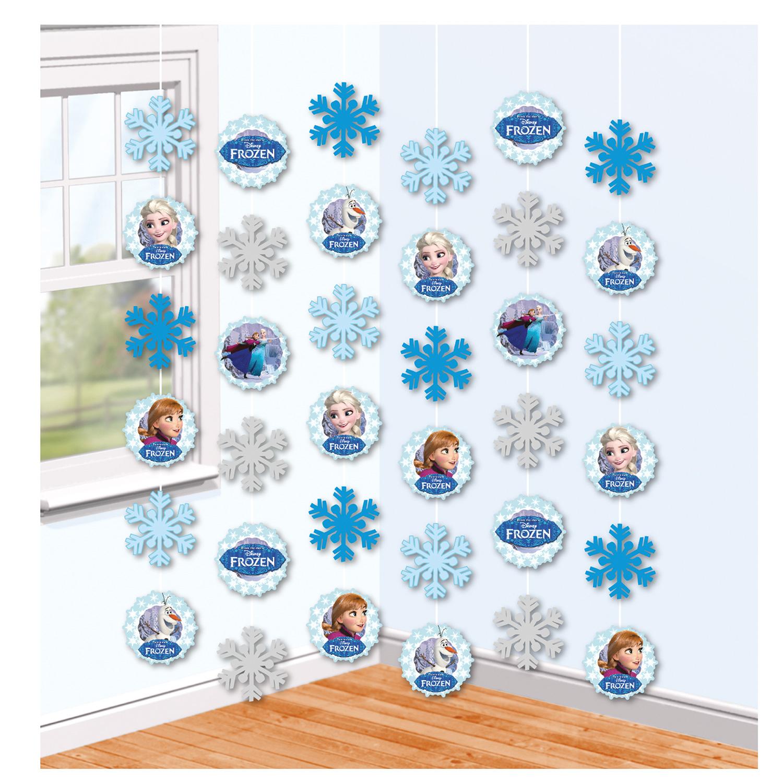 Κρεμαστά Διακοσμητικά Frozen 6 Τεμάχια