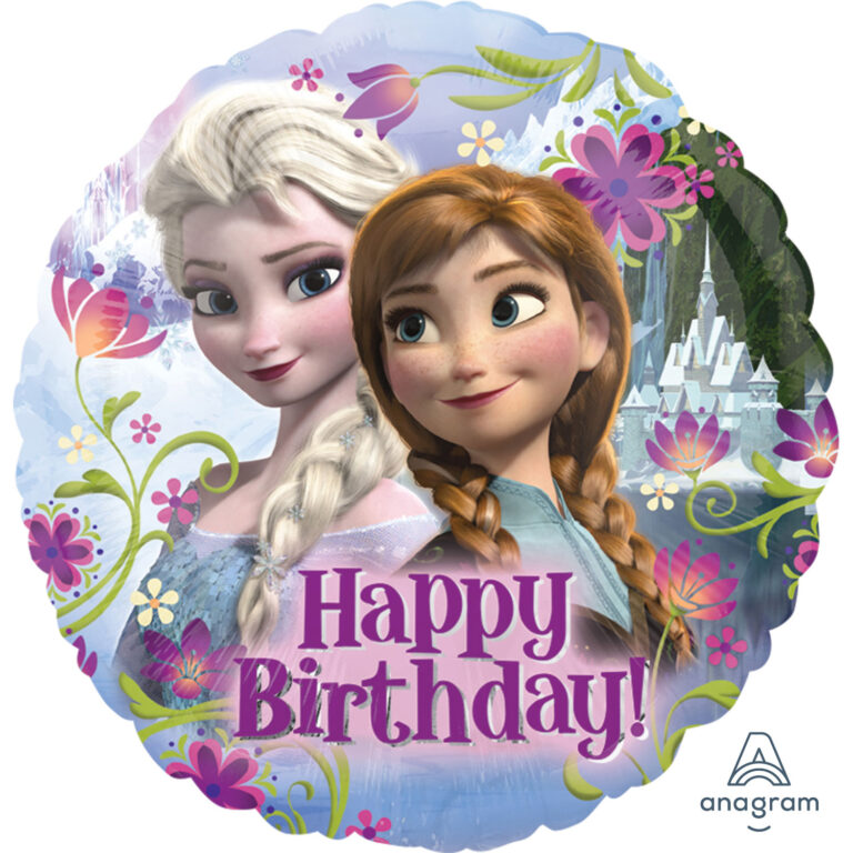 Μπαλόνι Foil Frozen II Happy Birthday 43εκ