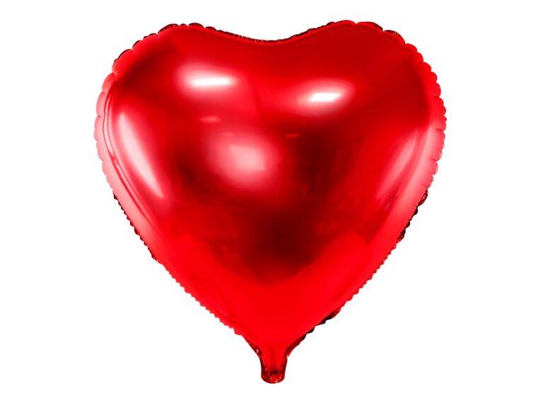 Μπαλόνι Foil Καρδιά Κόκκινο 45εκ