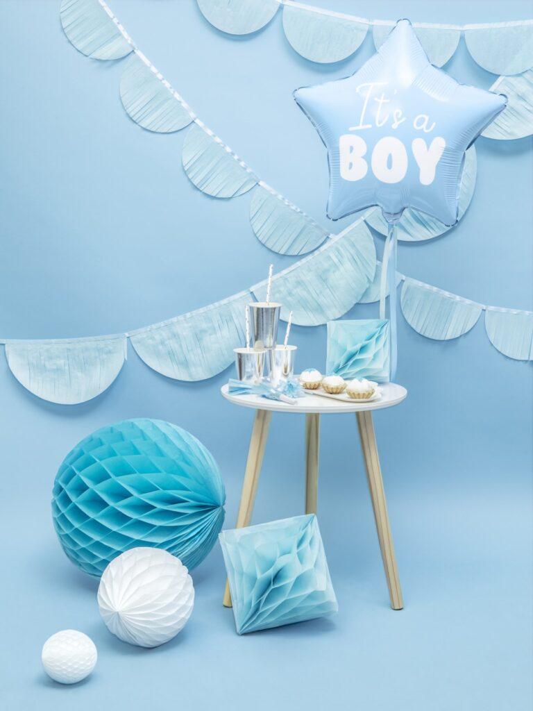 Μπαλόνι Foil Αστέρι It's A Boy Γαλάζιο 48εκ