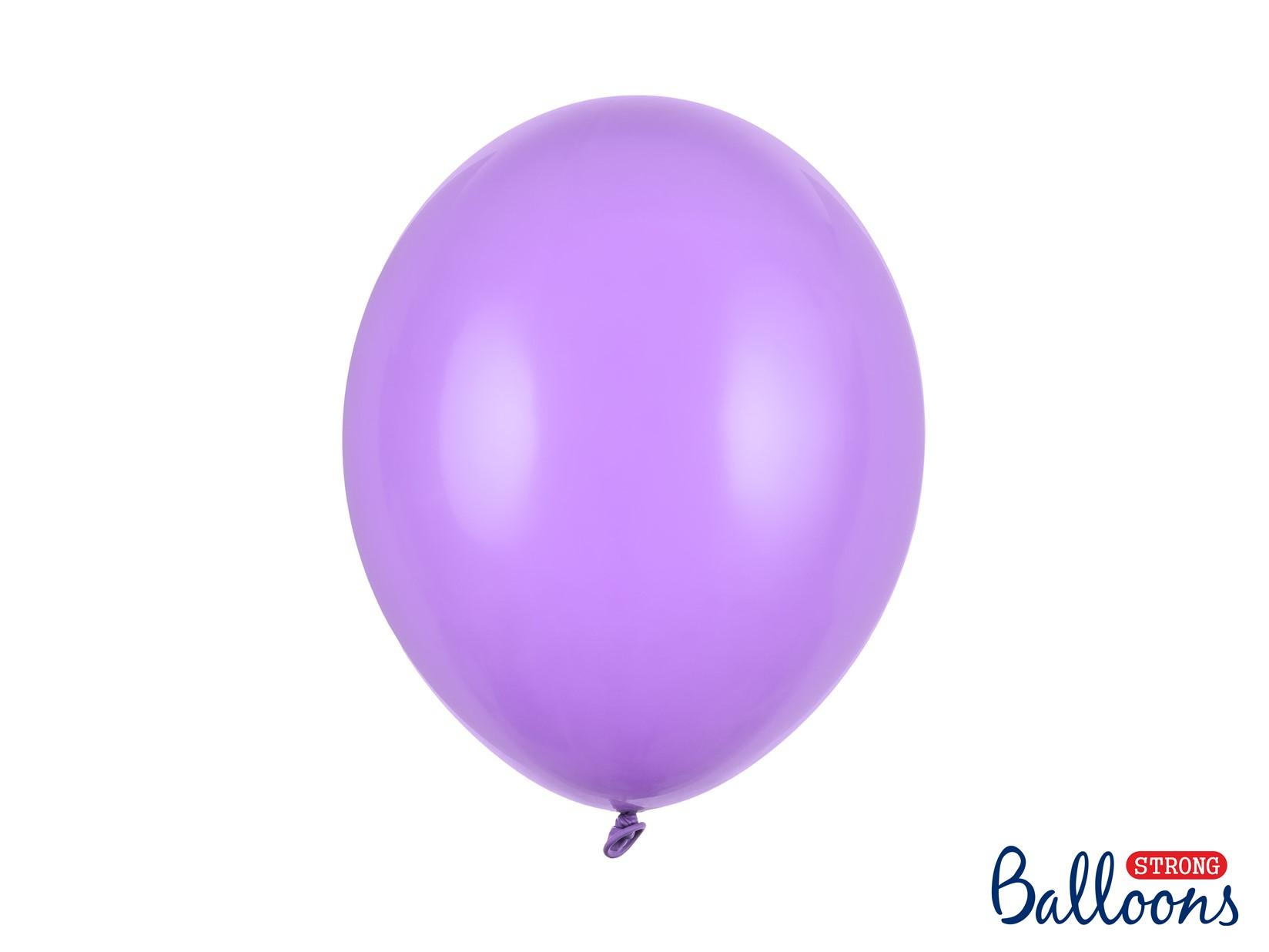 Μπαλόνια Latex Pastel Λεβάντα 30εκ – 50 Τεμάχια