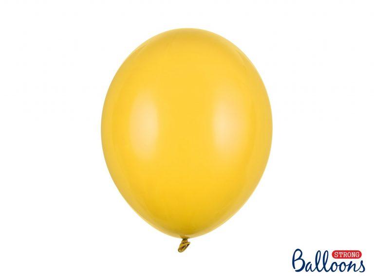 Μπαλόνια Latex Pastel Honey Yellow 30εκ – 10 Τεμάχια