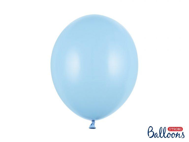Μπαλόνια Latex Baby Blue 30εκ – 10 Τεμάχια
