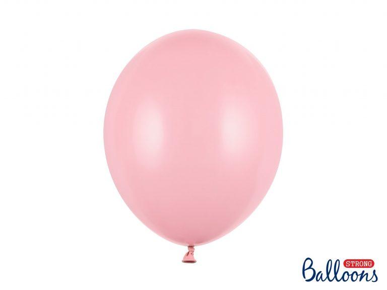 Μπαλόνια Latex Baby Pink 30εκ – 10 Τεμάχια
