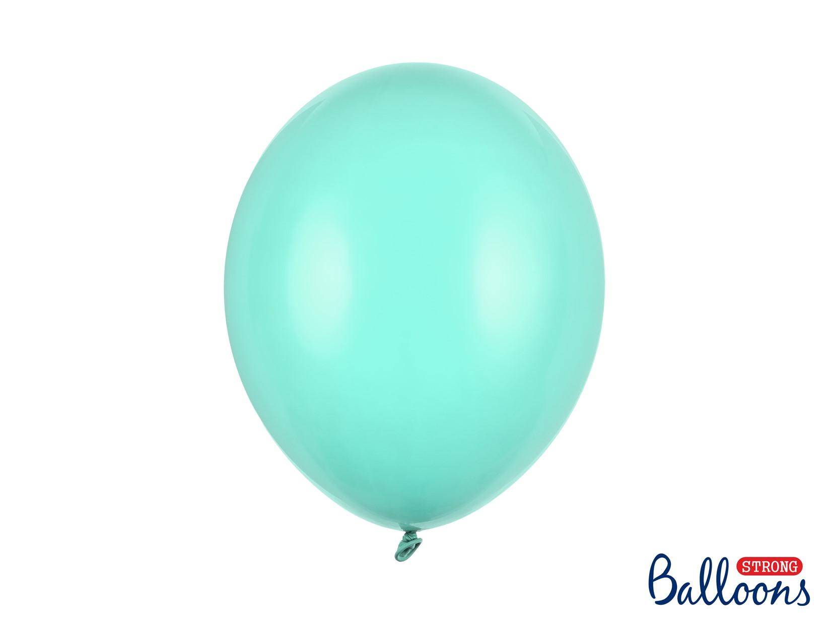 Μπαλόνια Latex Pastel Light Mint 30εκ – 50 Τεμάχια