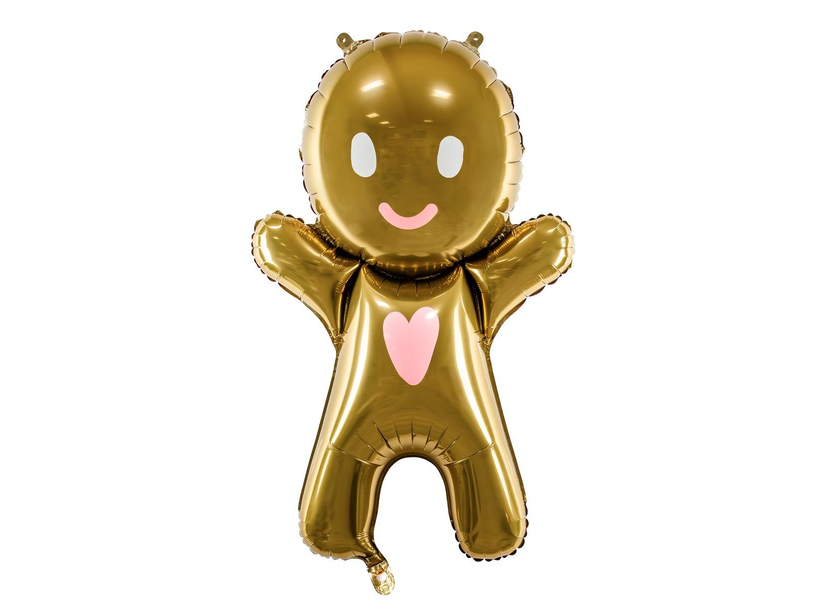 Μπαλόνι Foil Gingerbread Man 58×86εκ