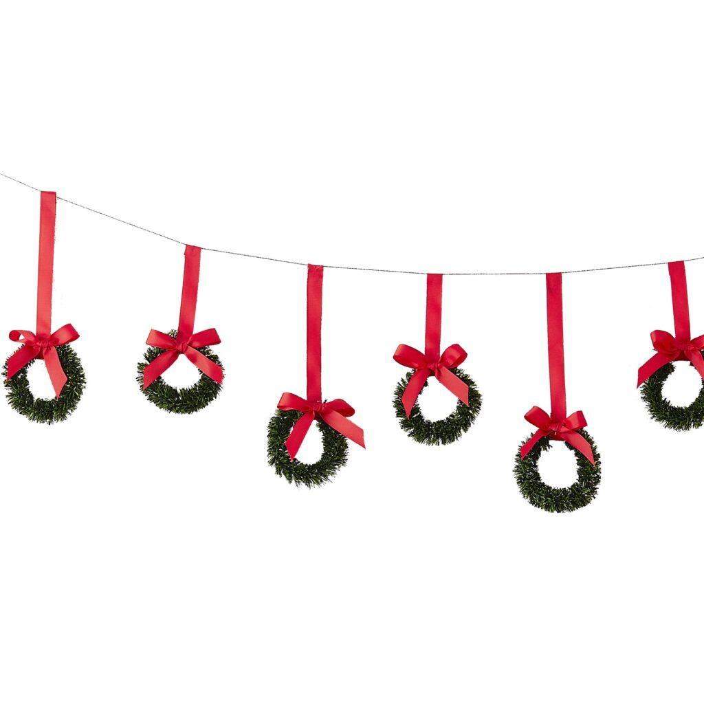 Χριστουγεννιάτικη Γιρλάντα Στεφανάκια