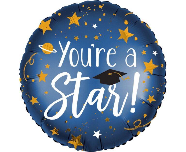 Μπαλόνι Foil You're A Star 45εκ