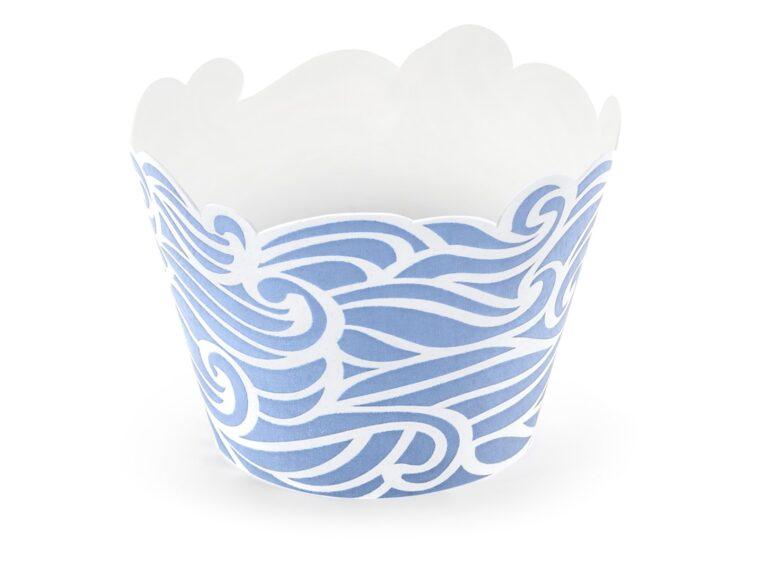 Χάρτινες Διακοσμητικές Θήκες Cupcakes Ahoy – 6 Τεμάχια