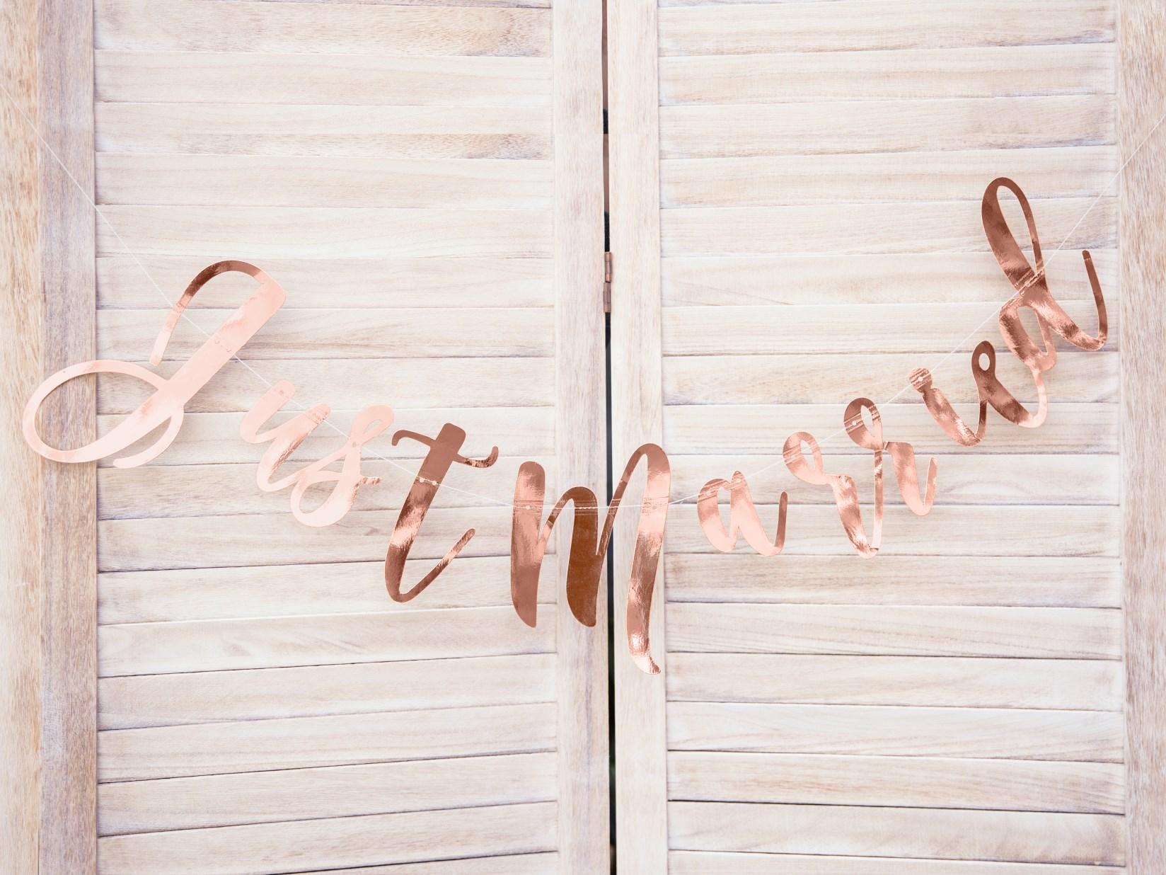 Rose Gold Γάμος