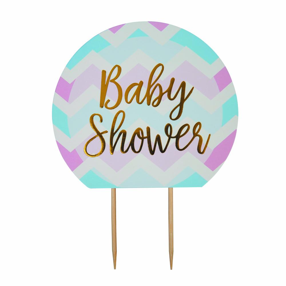 Χάρτινο Διακοσμητικό Τούρτας Baby Shower