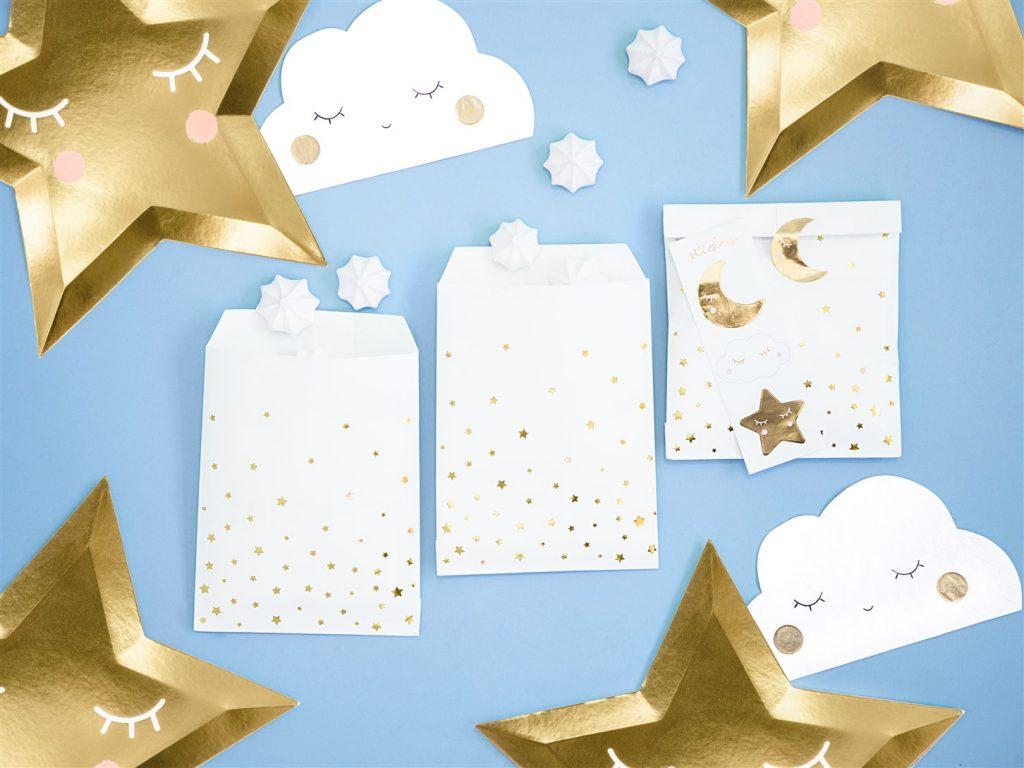Χάρτινα Σακουλάκια Κερασμάτων Little Star – 6 Τεμάχια