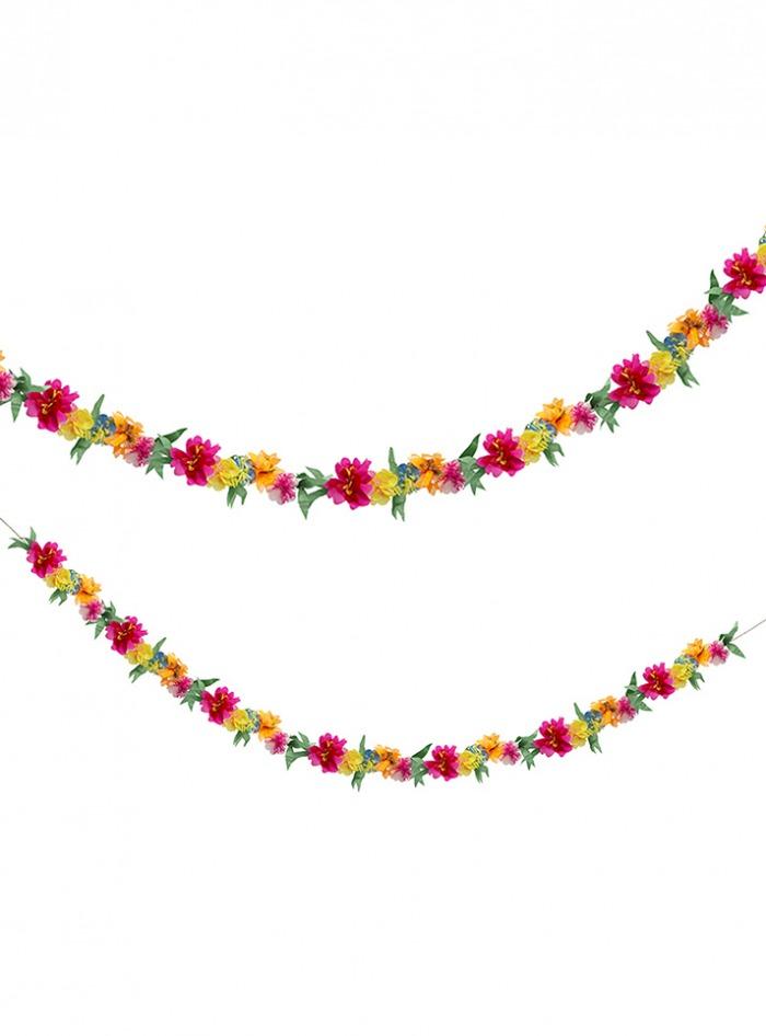 Γιρλάντα Meri Meri Χάρτινων Λουλουδιών Bright Blossom 2,5 Μέτρα