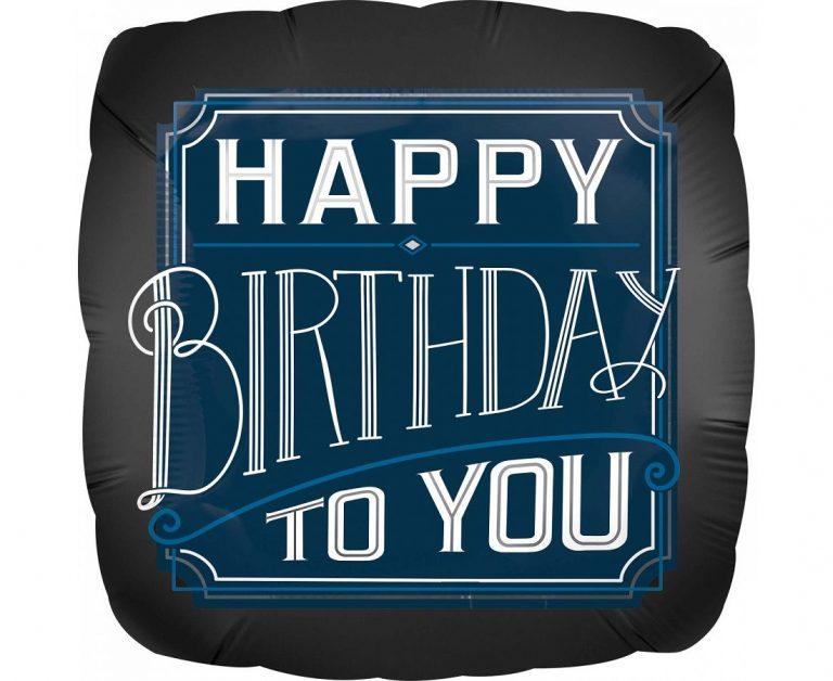Μπαλόνι Foil Happy Birthday To You 43εκ