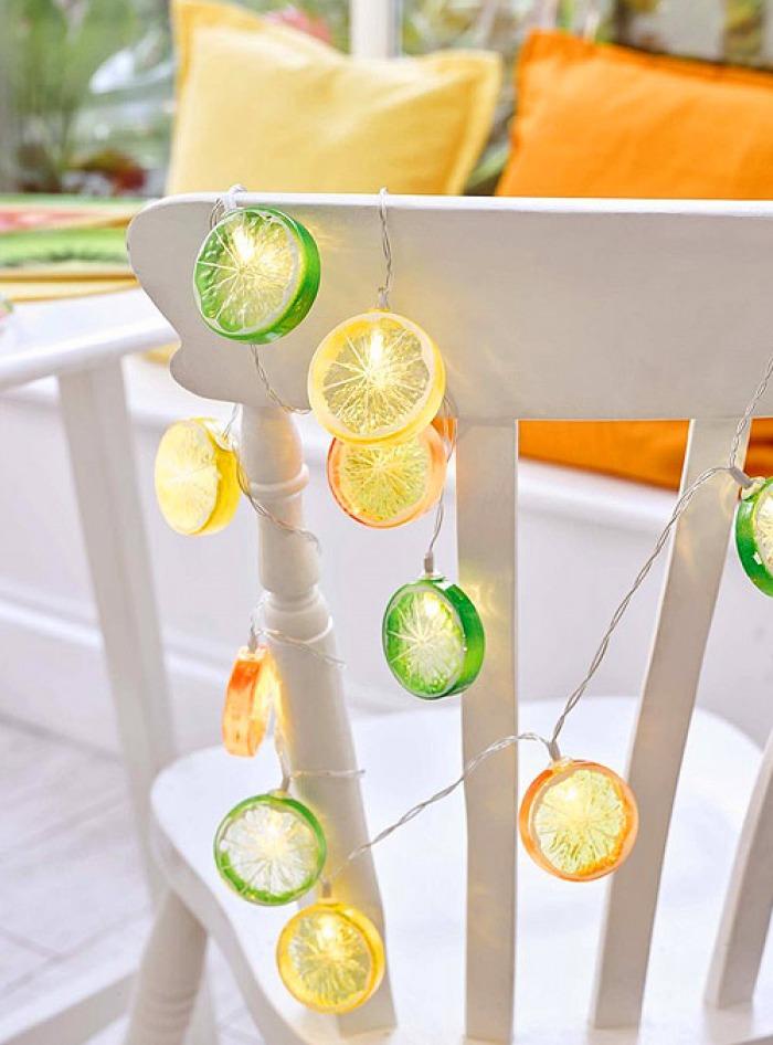 Γιρλάντα Λαμπάκια Citrus