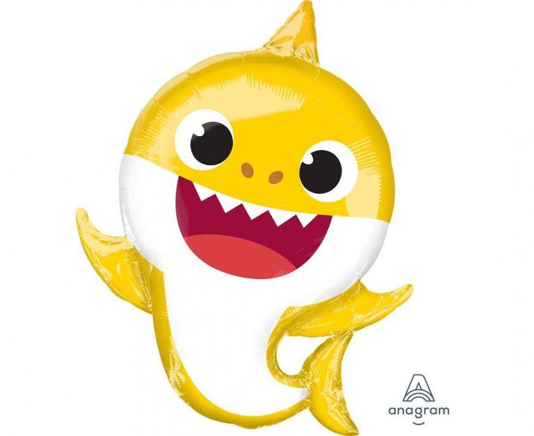 Μπαλόνι Foil Baby Shark 53×66εκ