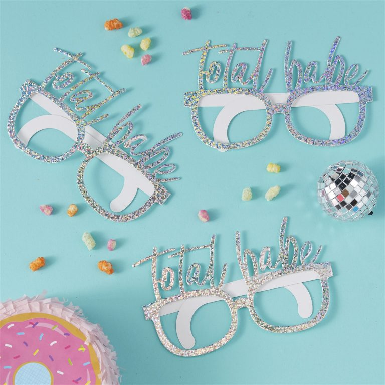 Χάρτινα Γυαλιά Total Babe – 8 Τεμάχια