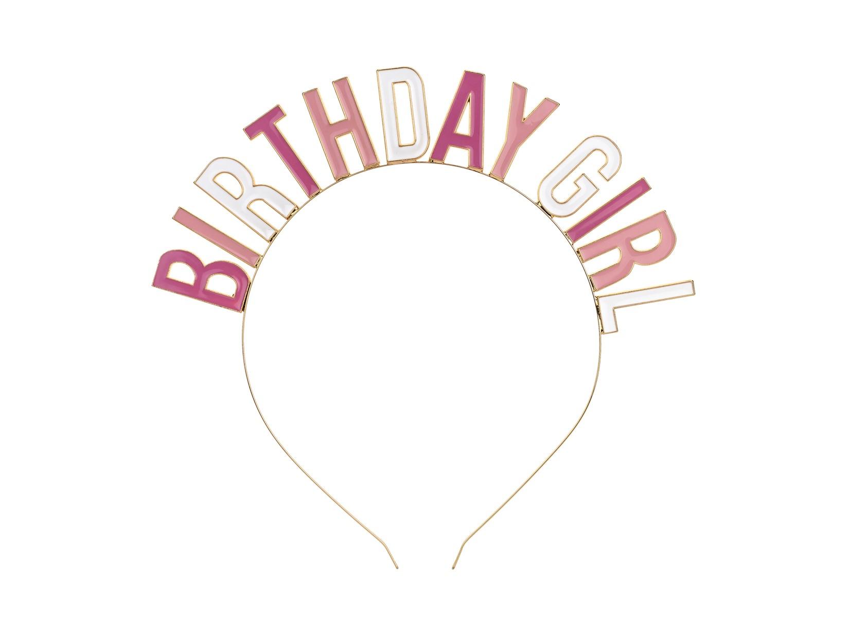 Στέκα Μεταλλική Birthday Girl