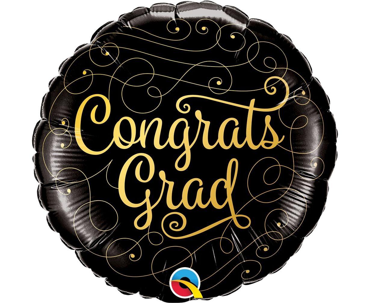 Μπαλόνι Foil Congrats Grad 45 εκ