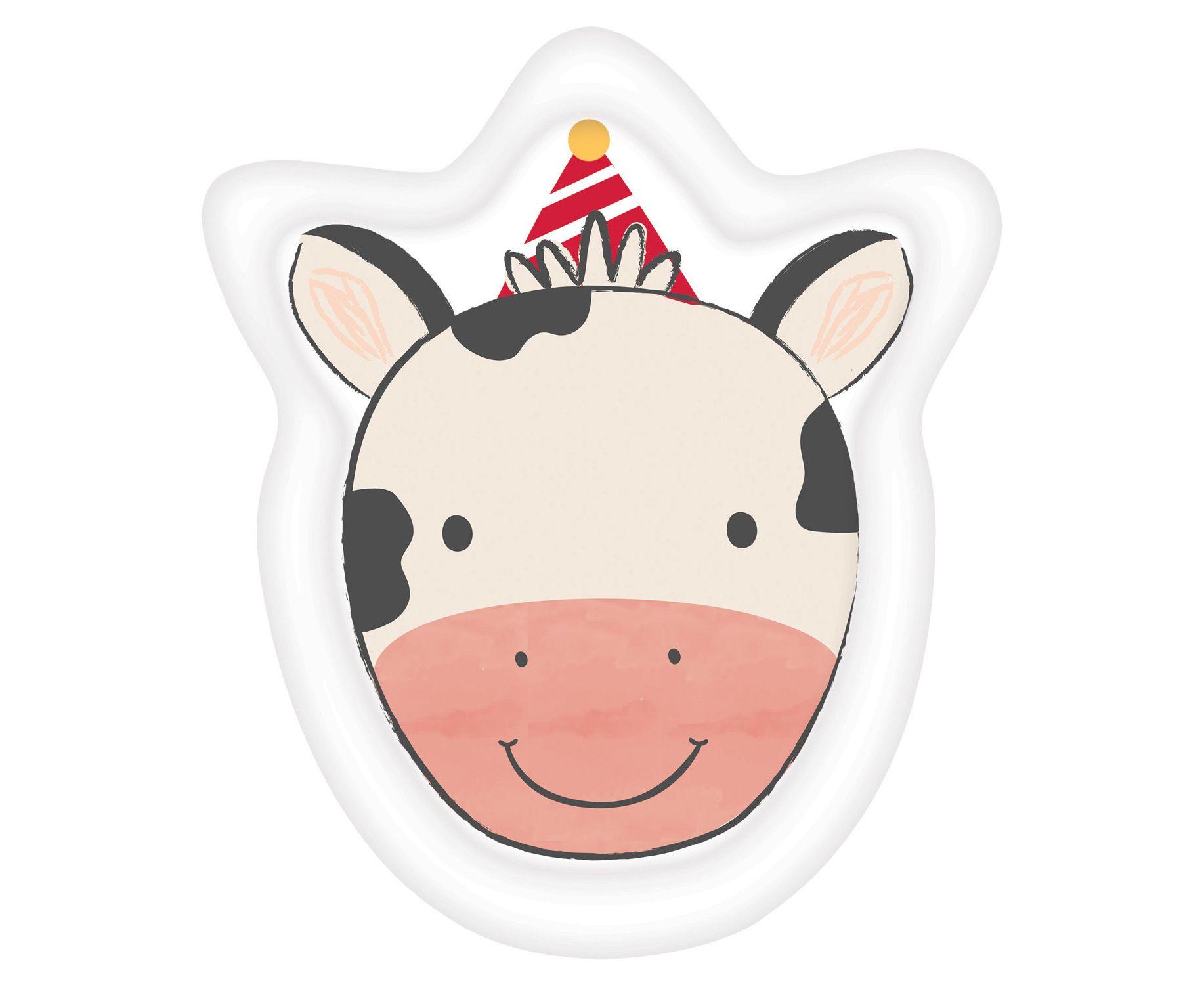Χάρτινα Πιάτα Αγελαδίτσα 23×18εκ – 8 Τεμάχια