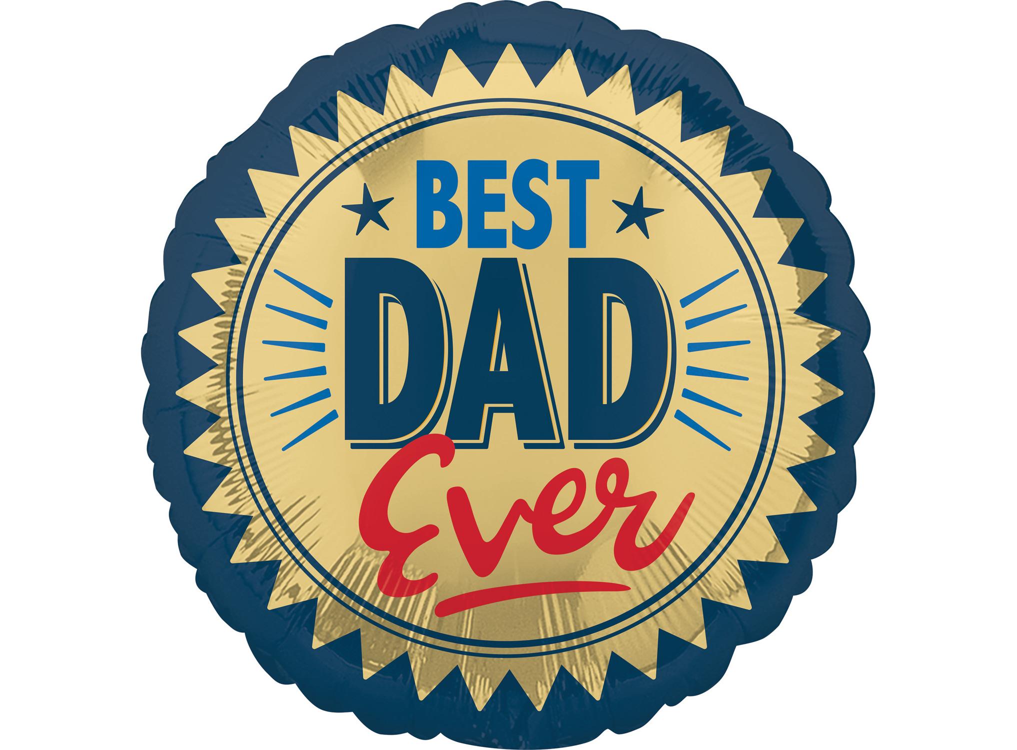 Μπαλόνι Foil Best Dad Ever 45εκ