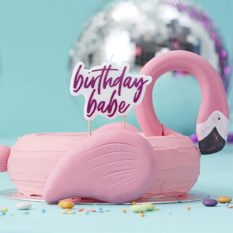 Κεράκι Birthday Babe