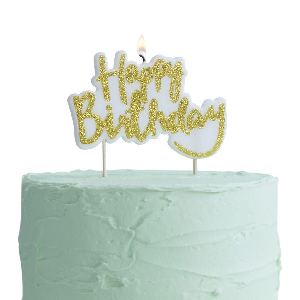 Κεράκι Happy Birthday