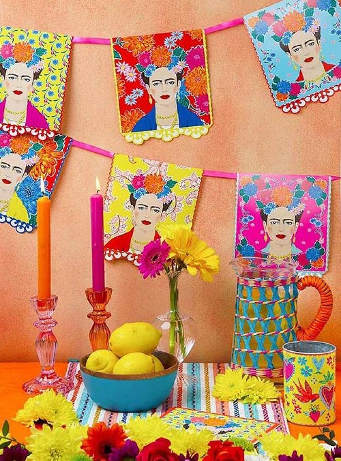 Χάρτινη Γιρλάντα Frida Kahlo 3 Μέτρα