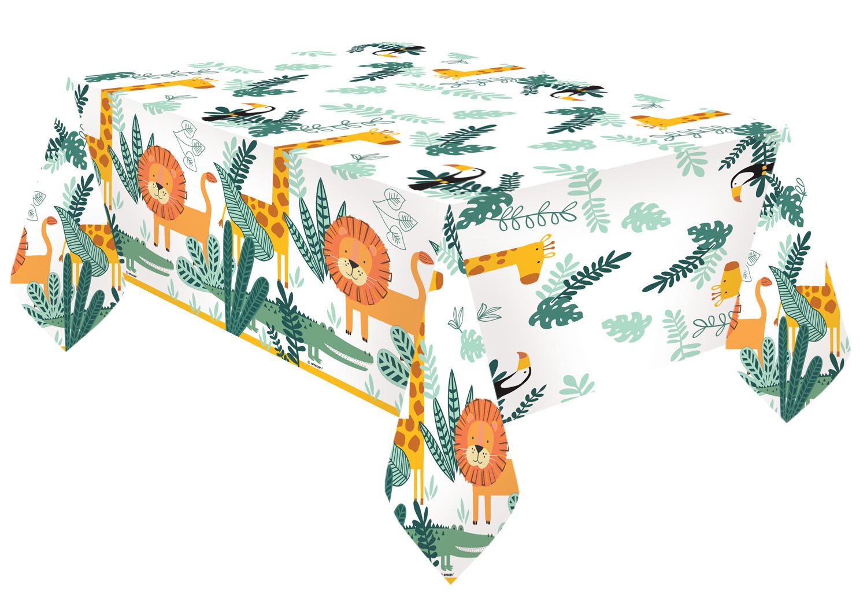 Χάρτινο Τραπεζομάντηλο Ζωάκια Ζούγκλας Get Wild