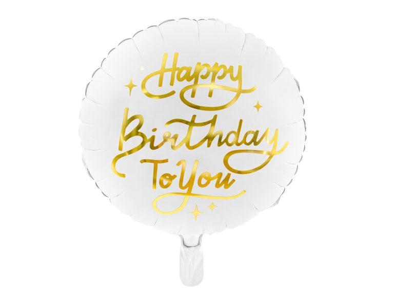 Μπαλόνι Foil Happy Birthday To You – 35εκ
