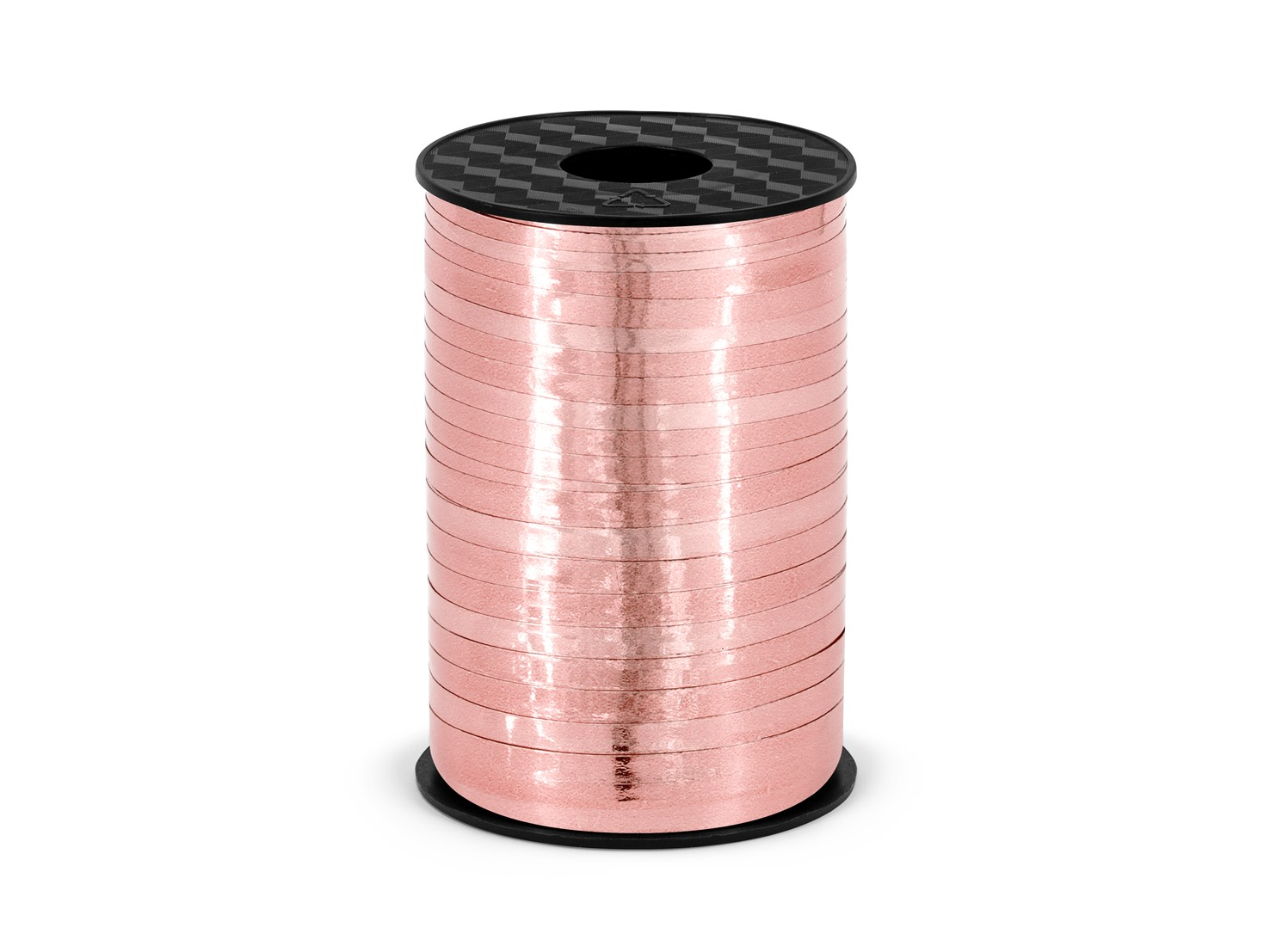 Πλαστική Κορδέλα Ροζ Χρυσή 225 Μέτρα