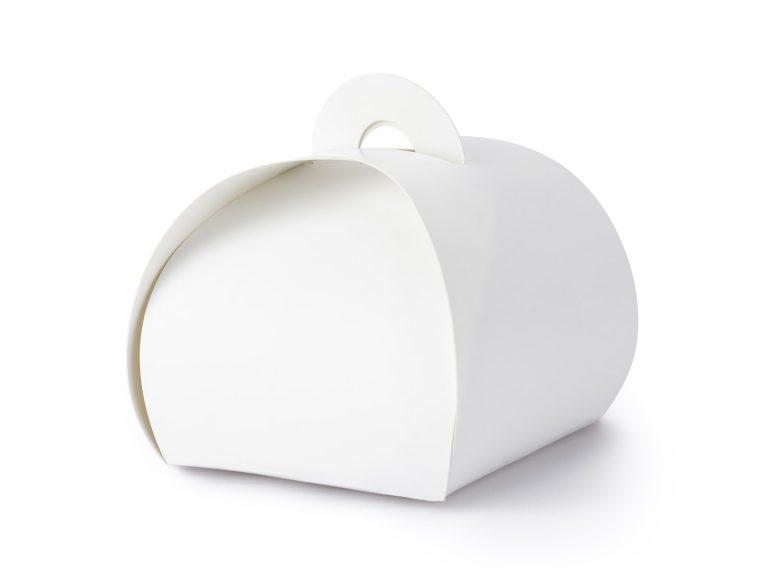 Χάρτινα Κουτάκια Λευκά – 10 Τεμάχια