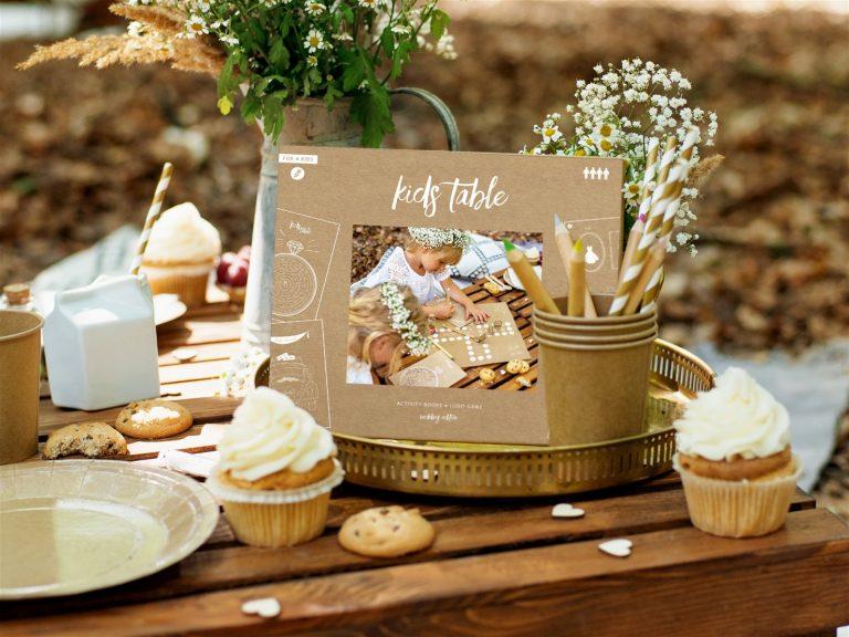 Παιδικό Σετ με Δραστηριότητες για Γαμήλιο Πάρτυ