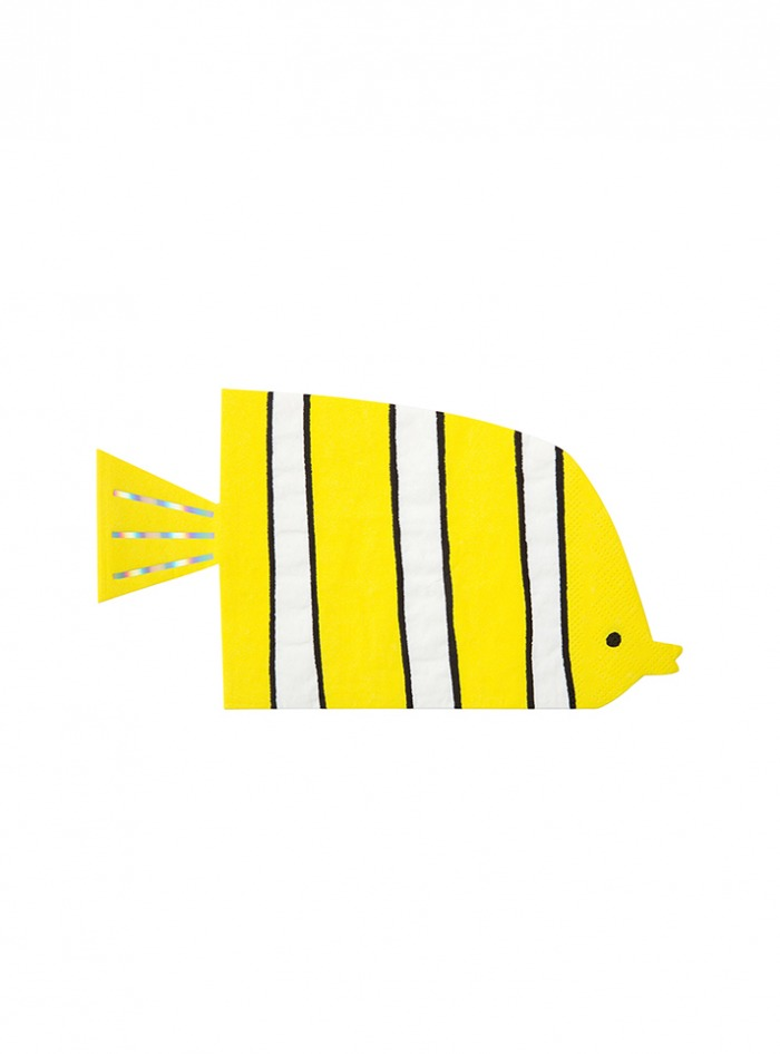 Χαρτοπετσέτες Meri Meri Under The Sea 20×11εκ – 16 Τεμάχια