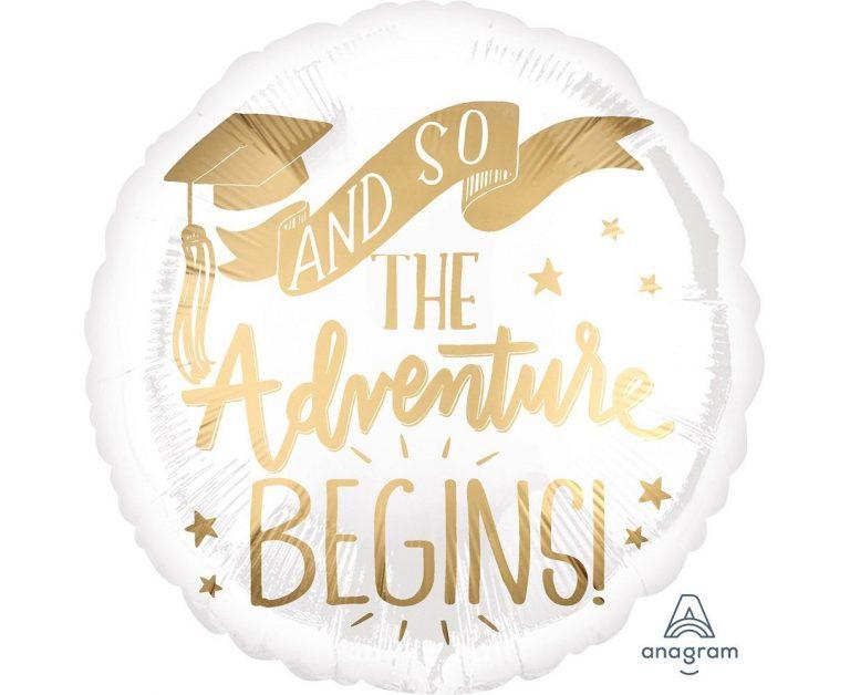 Μπαλόνι Foil And So The Adventure Begins 43εκ
