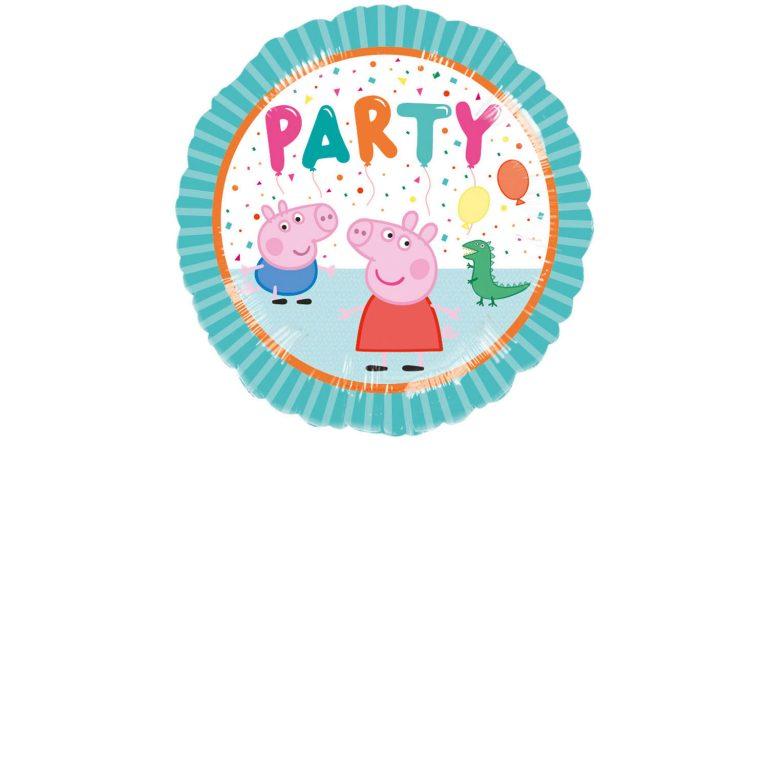 Μπαλόνι Foil Πέππα το Γουρουνάκι Party 43εκ