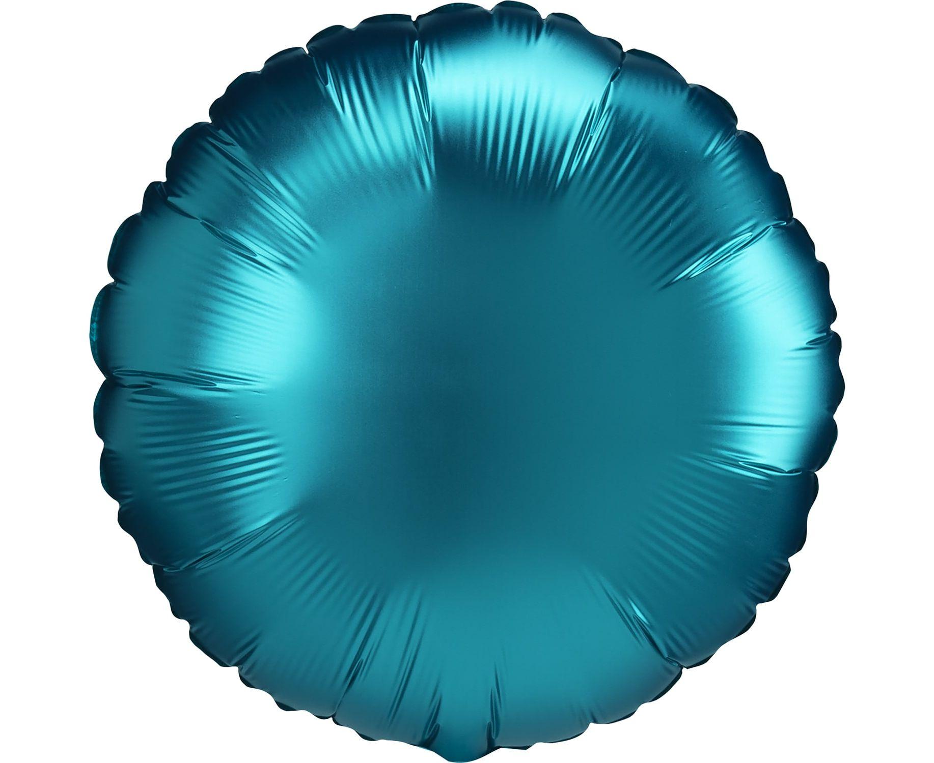 Μπαλόνι Foil Satin Luxe Aqua 43εκ